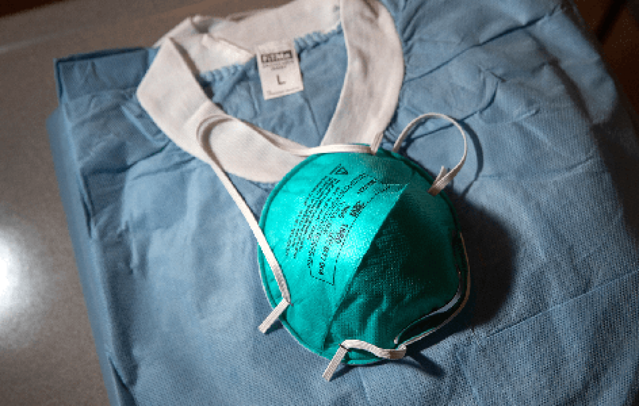 Personal protective equipment for health care workers