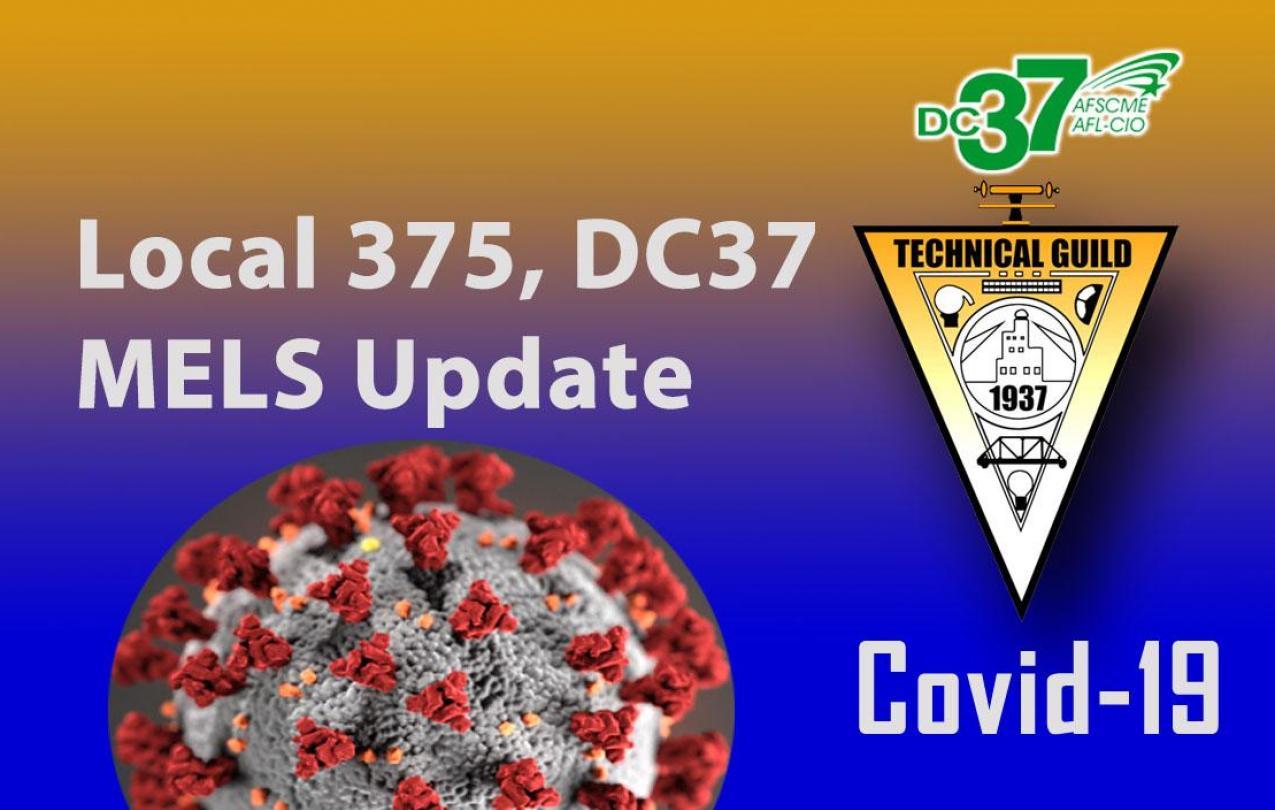 Covid-19 MELS Update