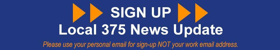 Sign up for Local 375